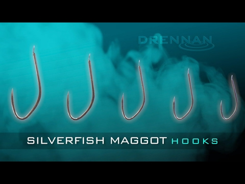 Drennan Silverfish Maggot Hooks With Gary Barclay
