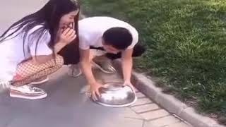China and japanese mix funny video