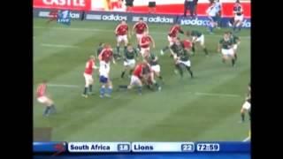 Jaque Fourie v British & Irish Lions in Pretoria, 2009