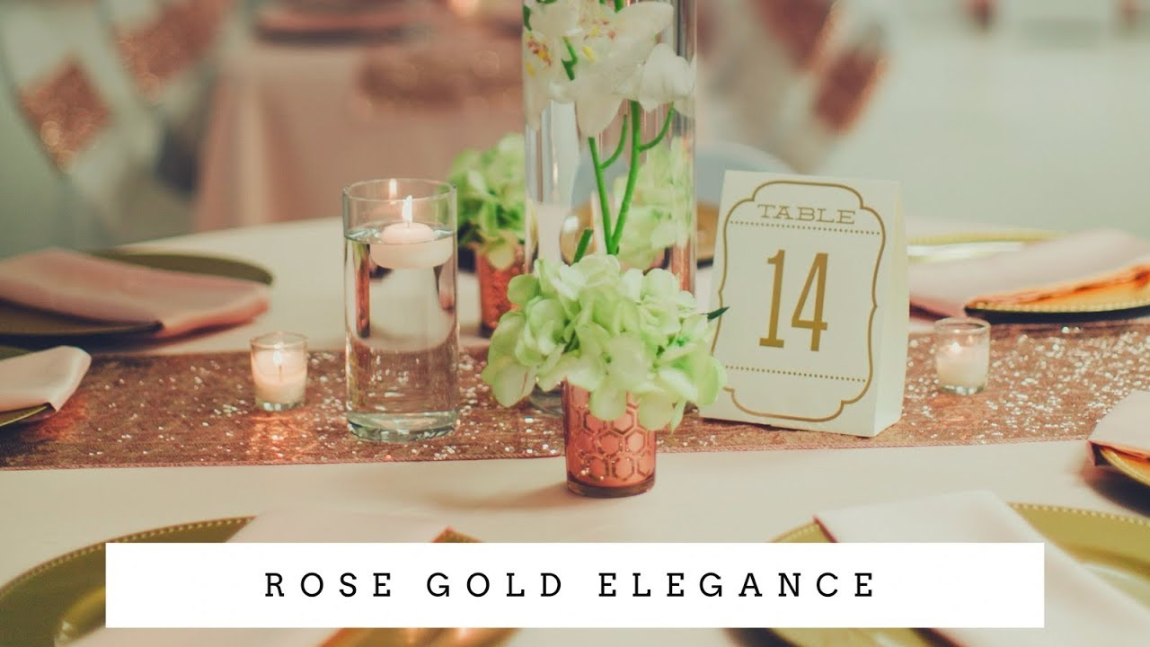 wedding ideas rose gold gold reception ideas affordable and luxurious 28024