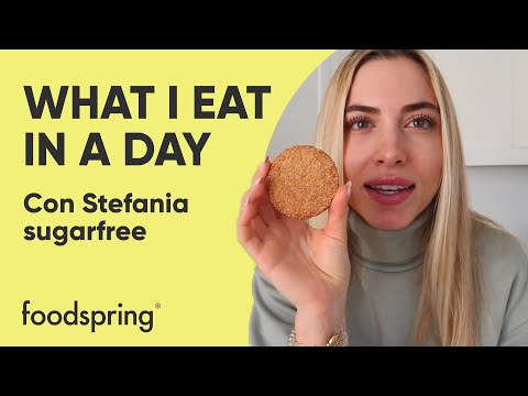 What I eat in a day con Stefania Sugarfree | foodspring®