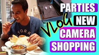 Husband's Parties, Shopping,New Camera | Day In life Vlog | SuperPrincessjo