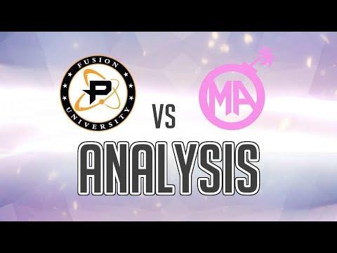 Jayne's Analysis: Fusion University vs Mayhem Academy with Aero
