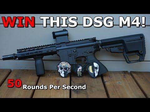 WIN A $1,000 DSG M4! Fully Custom Build! 50RPS Destruction!