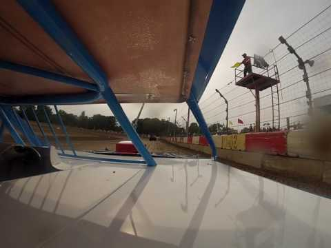 Logan Kirkman In Car Cam - Montpelier Motor Speedway - Hot Laps 8-5-17