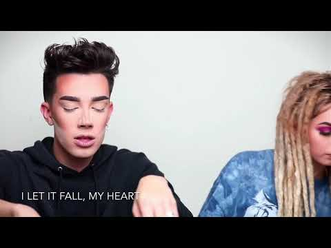 James Charles Ft. Zhavia - SET FIRE TO THE RAIN (COVER & LYRICS) - Adèle