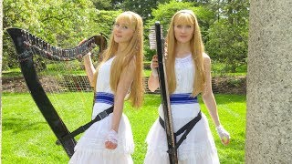 FAIRY TAIL (Main Theme) - Harp Twins, Camille and Kennerly
