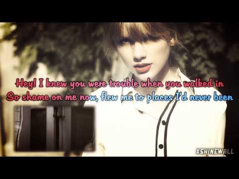 Taylor Swift - I Knew You Were Trouble [Instrumental/Karaoke]