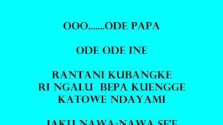 Lagu Poso Mau Mapari Kuepe