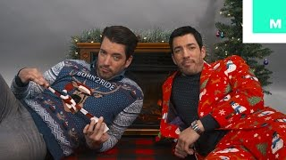 Holiday Yule Log with the Property Brothers