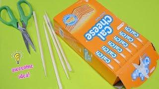 Amazing Sweet Cardboard box Project Idea  Candy Bar Idea Table Decor