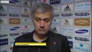 Chelsea vs West Brom 2-2 - Jose Mourinho (09-11-13)
