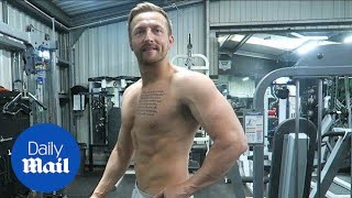 Father-of-one shows incredible body transformation in video - Daily Mail Mp3