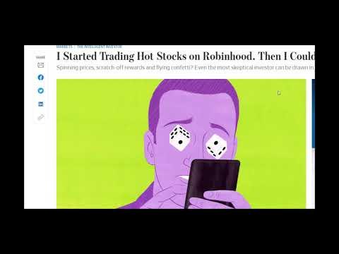 Wall Street Journal Analyst Tries Day Trading, Portfolio, Nationwide Unemployment
