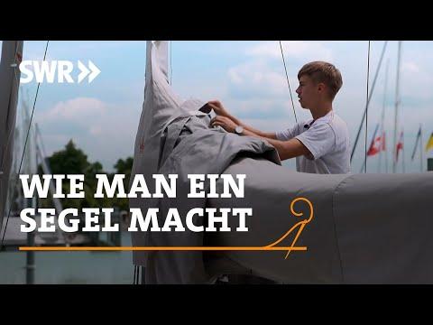 Handwerkskunst! Wie man ein Segel macht | SWR Fernsehen