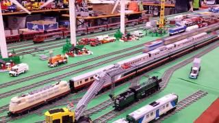 Città e treni Lego