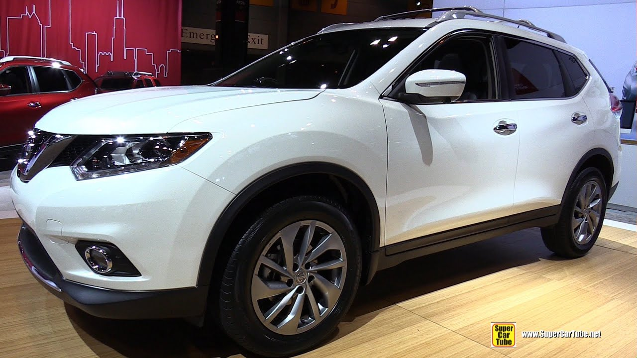2015 Nissan Rogue SL AWD   Exterior And Interior Walkaround   2015 Chicago  Auto Show   YouTube
