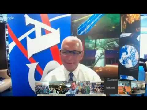 Living Maths Interview with NASA Administrator Charlie Bolden for H2M 2016