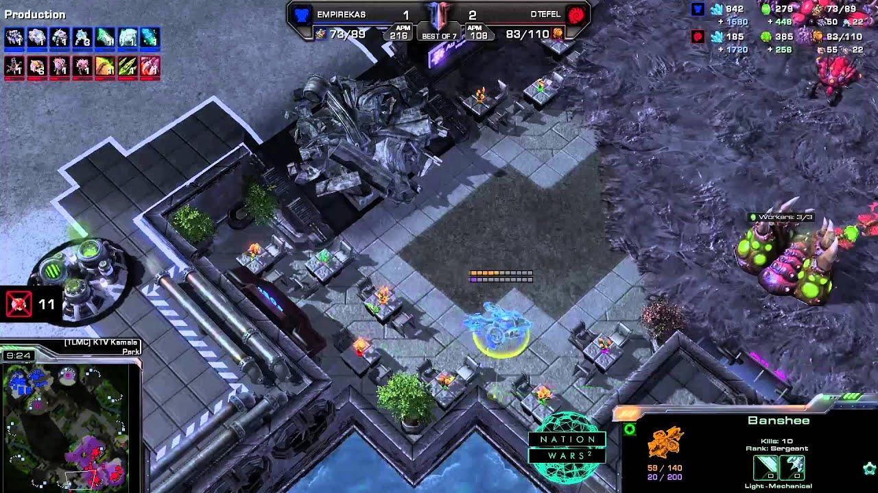 Ukraine vs. Poland - Game 4 - Nation Wars - StarCraft 2