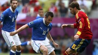 Spain vs Italy (4-0) 1.7.12 EM 2012 All Goals & Highlights HD Spanien vs Italien