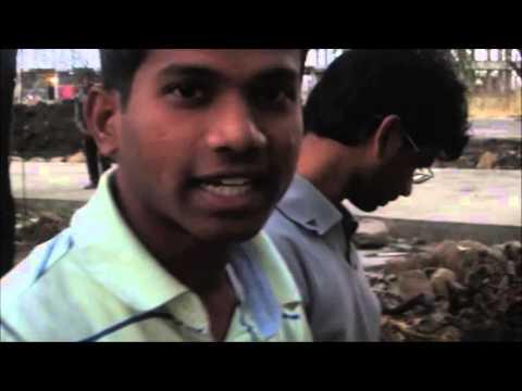 MANIT students in slum areas