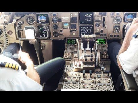 COCKPIT EXPERIENCE !! NEW YORK JFK. Boeing 767-300. Spectacular Landing. Flight Frankfurt - New York