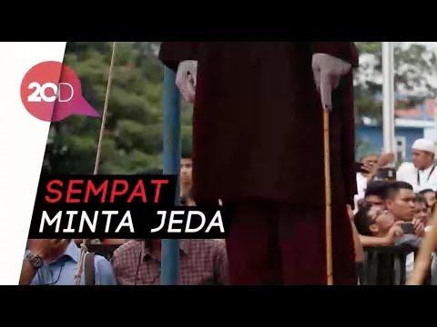 Divonis Bersalah, Muncikari Online di Aceh Dicambuk 37 Kali!