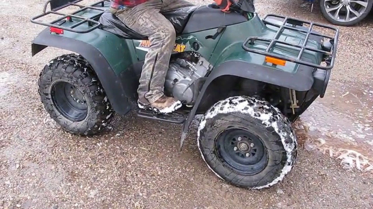 Parting Out a Running 2001 Arctic Cat 400 4x4 ATV on eBay