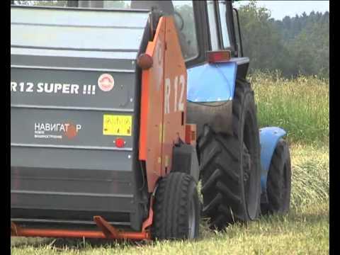 Пресс подборщик R12 Super NW 1
