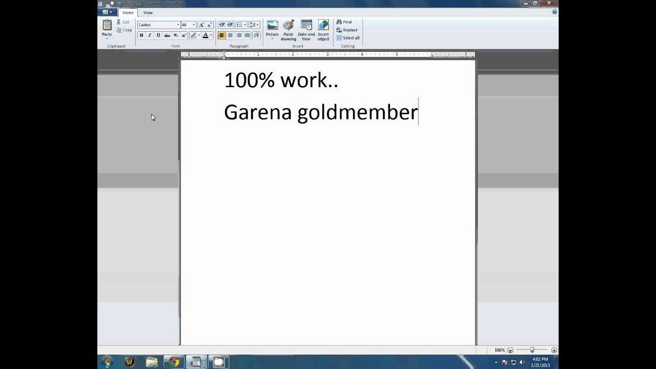 Garena cafe service v3 0 key 2014