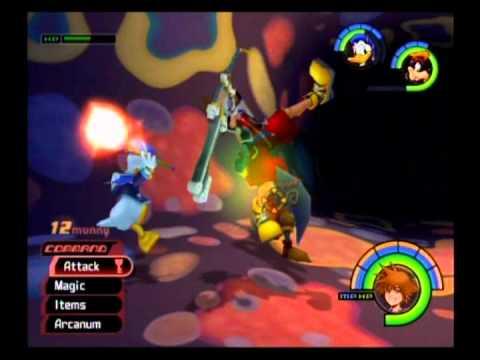 Kingdom Hearts Playthrough - Part 101, White Trinity Marks (Atlantica, Monstro)