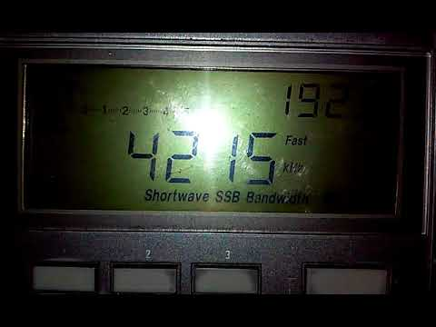 4215 kHz TAH Turk Radio Istanbul CW Marker