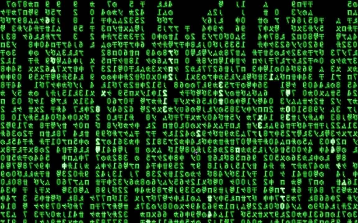 Hasil gambar untuk Matrix Screensaver