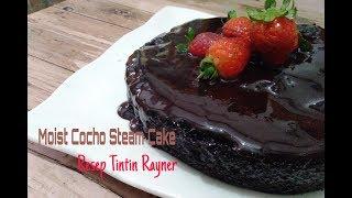 Cocholate Steam Cake Resep Tintin Rayner  Kue Coklat Kukus  no mixer no oven