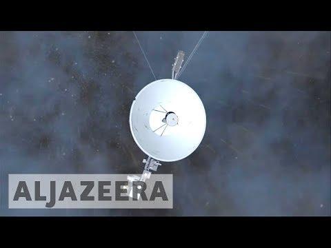 NASA marks historic Voyager launch