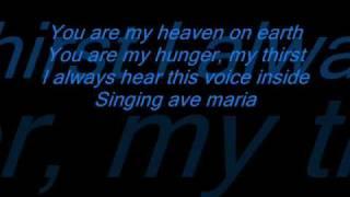 beyonce ave maria w lyrics