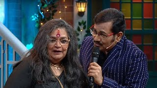 The Kapil Sharma Show - Uncensored Footage | Usha Uthup & Sudhesh Bhosle