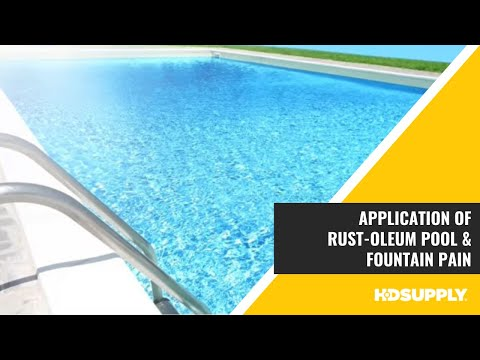 Rust-Oleum Pool & Fountain Paint And Pool Clean & Prep Solution - HD Supply Facilities Maintenance