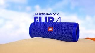 JBL Flip 4 – Caixa de som à prova d'água