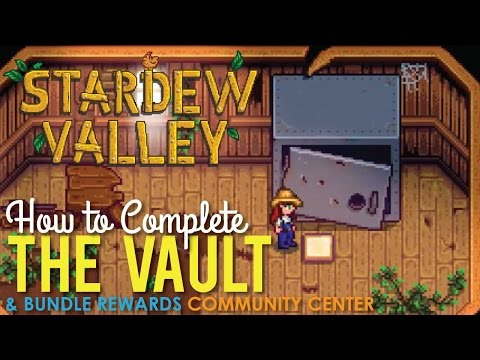 Stardew Valley Vault, How To Repair The Bus