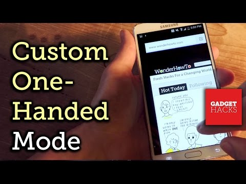 Enable One-Handed Mode For Any Android Device [How-To]