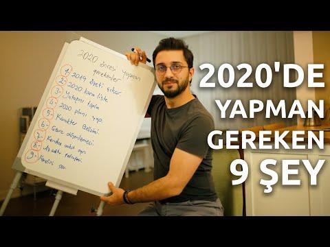 2020'DE YAPMANIZ GEREKEN 9 ŞEY