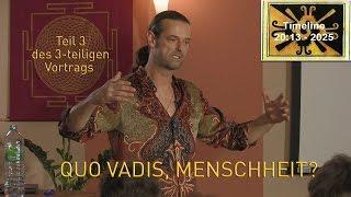 Quo Vadis, Menschheit? Vortrag von Martin Strübin (3/3)