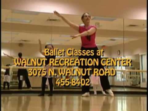 Ballet Classes at Walnut Rec Ctr.