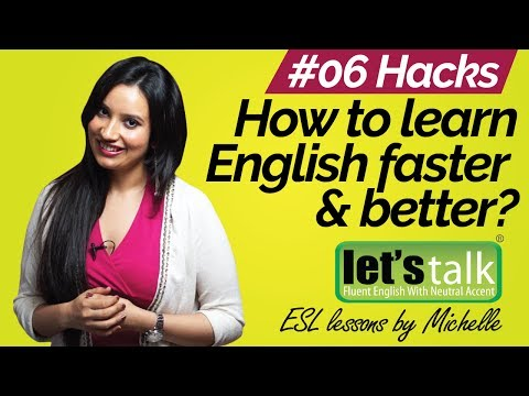 How to learn English faster & better? Free Spoken English lessons