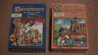 Carcassonne : The Princess and The Dragon, Abbey & Mayor Review