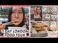 WHAT TO EAT IN LONDON: Brunch, Dumplings, Hotpot, Seafood   London Food Tour