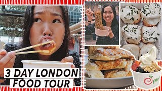 WHAT TO EAT IN LONDON: Brunch, Dumplings, Hotpot, Seafood | London Food Tour