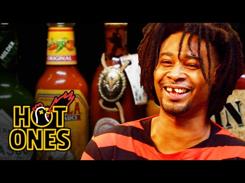 Danny Brown Has An Orgasm Eating Spicy Wings | Hot Ones