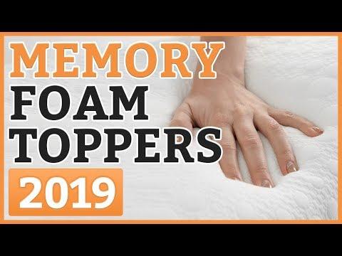 Best Memory Foam Mattress Toppers 2018 – TOP 11 Memory Foam Mattress Topper